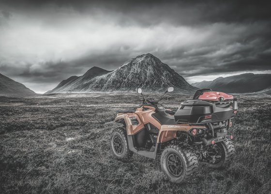 ATV box for the BRP Outlander 450 570