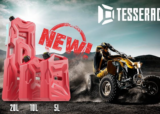 Tesseract jerry can 10L