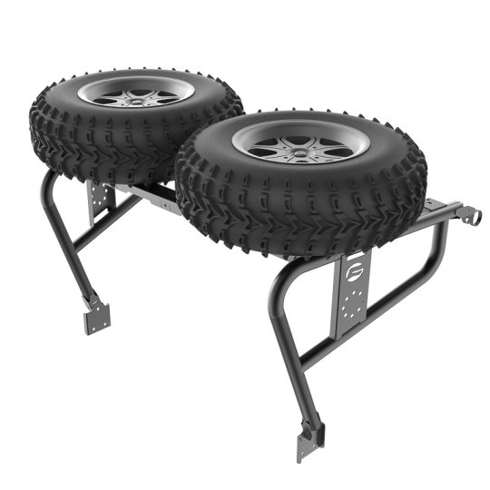The rack for a spare wheel and canister CFMoto ZFORCE