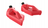 Front jerry cans for the BRP OUTLANDER CAN-AM